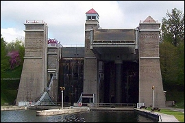 Peterborough Canada : Lift Lock